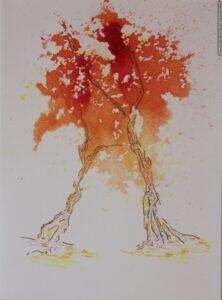 Arbre Bipède. Biped Tree, 2020